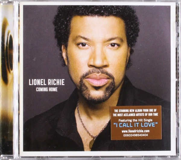 Lionel Richie Coming Home cover art