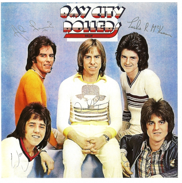 Bay City Rollers Rollin' cover art