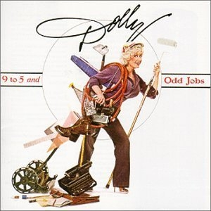 Dolly Parton 9 to 5 and Odd Jobs cover art