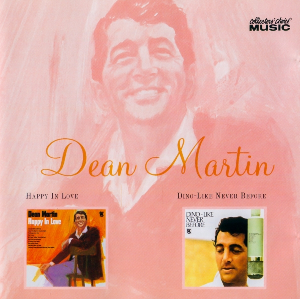 Dean Martin Happy in Love / Dino-Like Never Before cover art