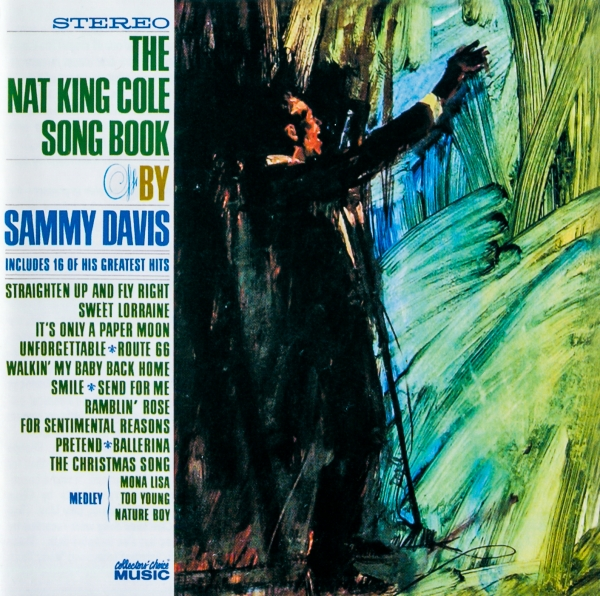 Sammy Davis Jr. Nat King Cole Songbook Cover Art