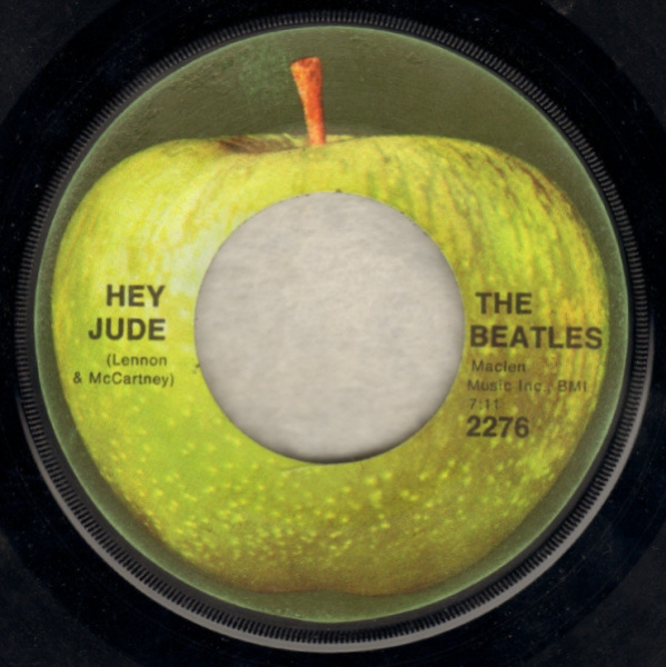 The Beatles Hey Jude cover art