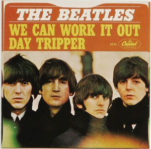 The Beatles We Can Work It Out / Day Tripper Cover Art