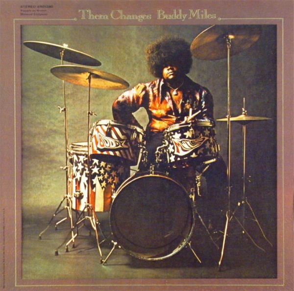 Buddy Miles Them Changes Cover Art