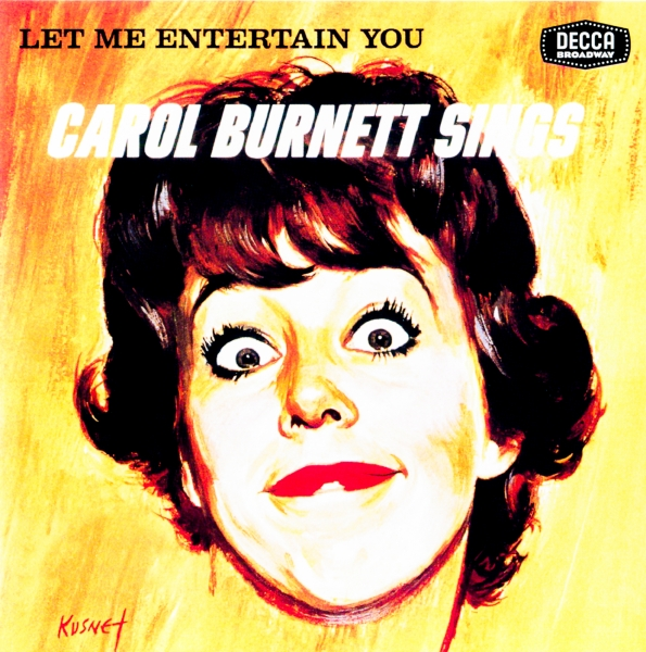Carol Burnett Let Me Entertain You cover art