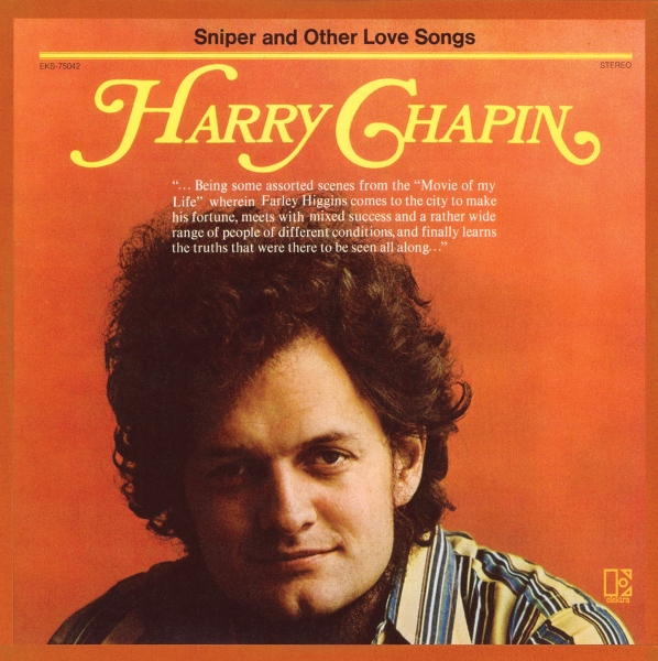 Harry Chapin Sniper and Other Love Songs cover art