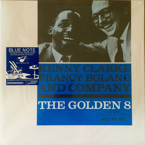Kenny Clarke with Francy Boland and Company The Golden Eight Cover Art
