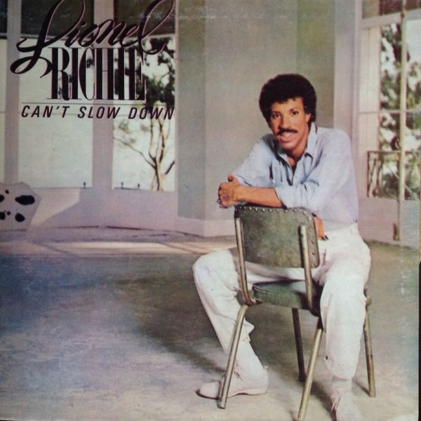 Lionel Richie Can't Slow Down cover art
