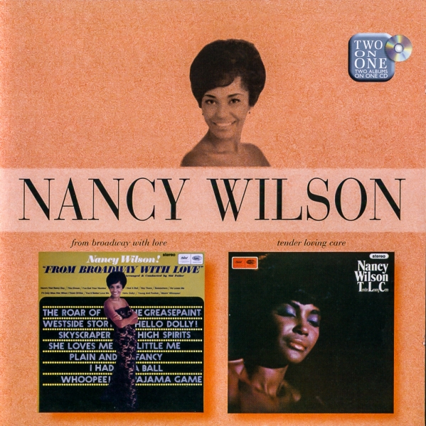 Nancy Wilson From Broadway With Love / Tender Loving Care cover art