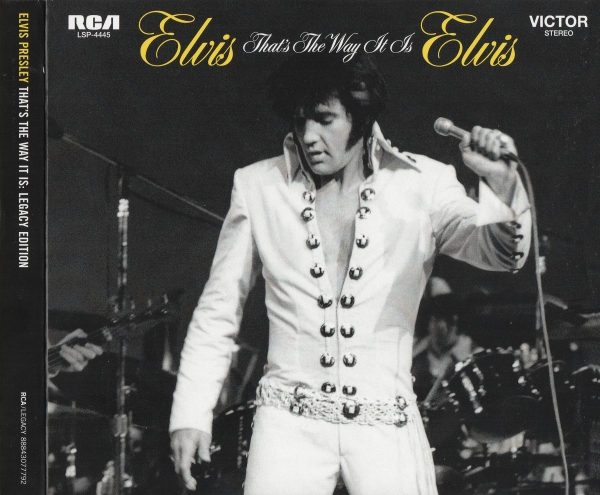 Elvis Presley That's the Way It Is cover art