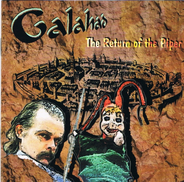 Galahad The Return of the Piper Cover Art