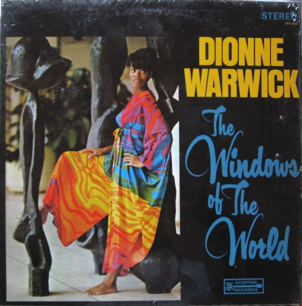 Dionne Warwick The Windows of the World cover art