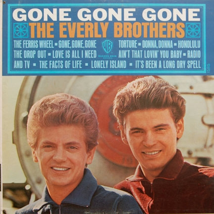 The Everly Brothers Gone, Gone, Gone cover art