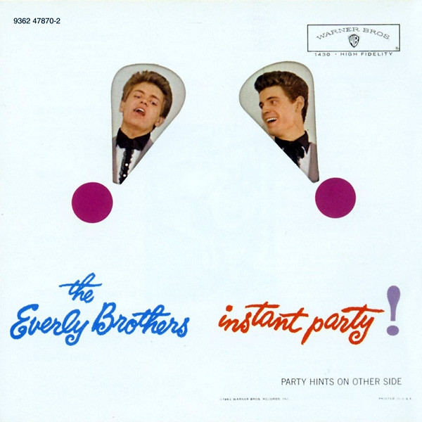 The Everly Brothers Instant Party Cover Art