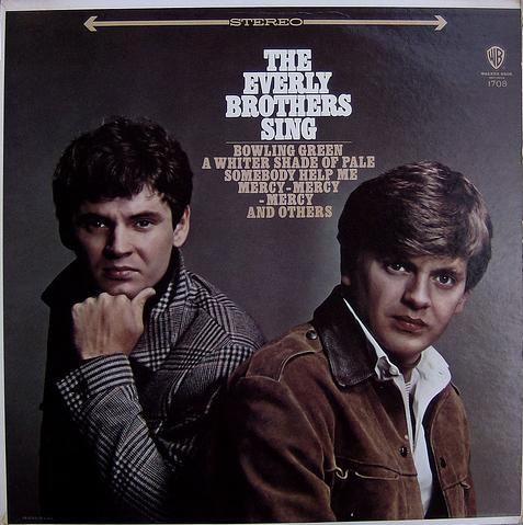 The Everly Brothers The Everly Brothers Sing cover art
