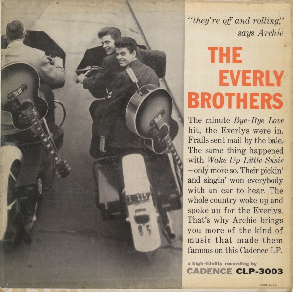 The Everly Brothers The Everly Brothers Cover Art