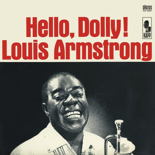 Louis Armstrong Hello, Dolly! cover art