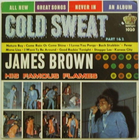 James Brown & The Famous Flames Cold Sweat cover art