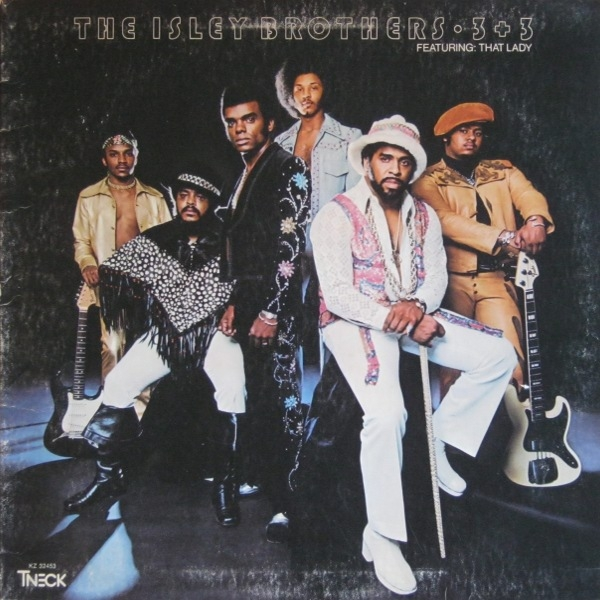 The Isley Brothers 3+3 cover art