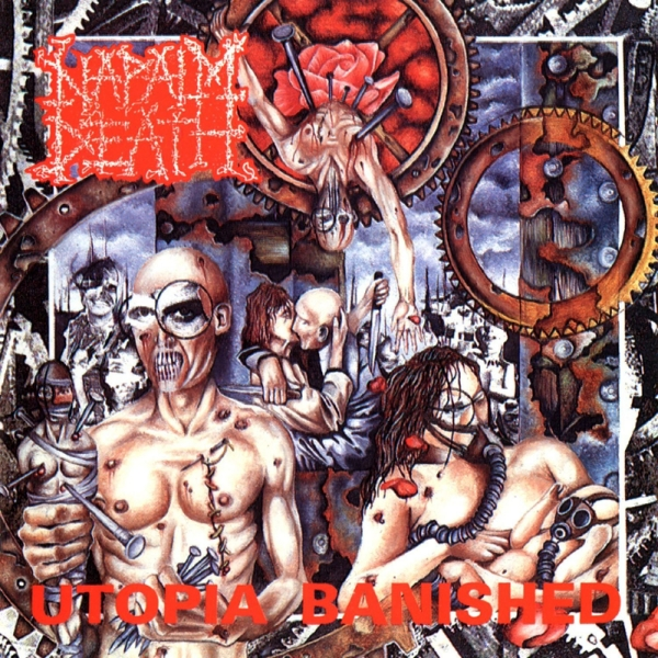Napalm Death Utopia Banished cover art