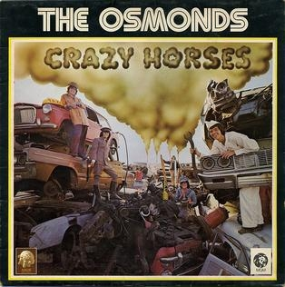 The Osmonds Crazy Horses Cover Art