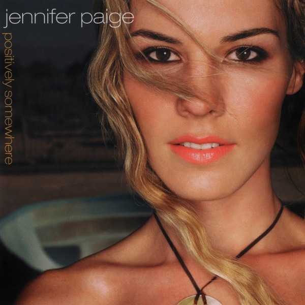 Jennifer Paige Positively Somewhere cover art