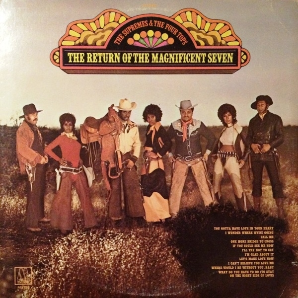 Four Tops The Return of the Magnificent Seven cover art