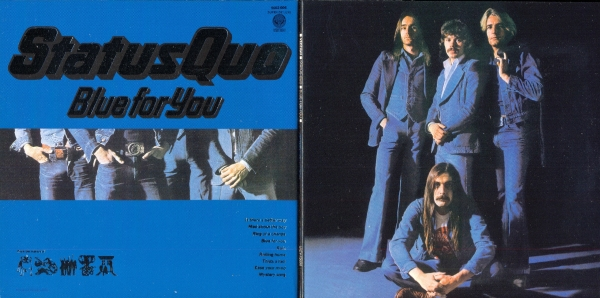 Status Quo Blue for You Cover Art