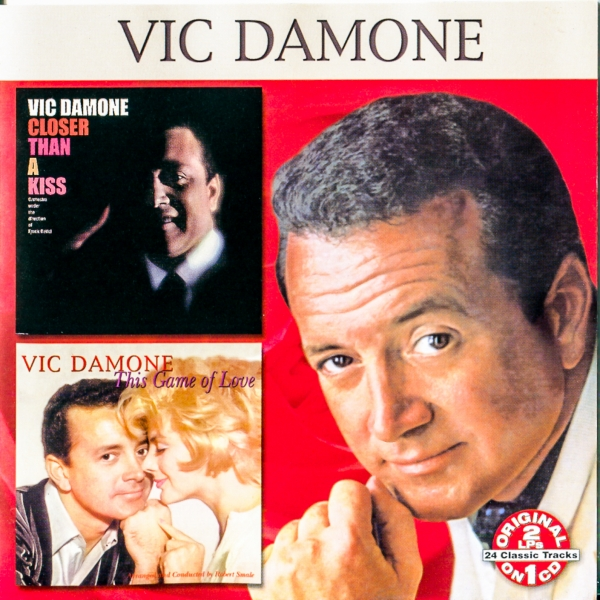 Vic Damone Closer Than a Kiss / This Game of Love cover art