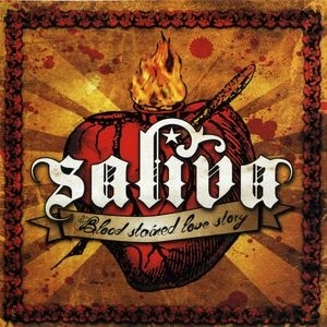 Saliva Blood Stained Love Story Cover Art