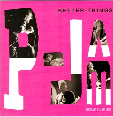 Pearl Jam Better Things cover art