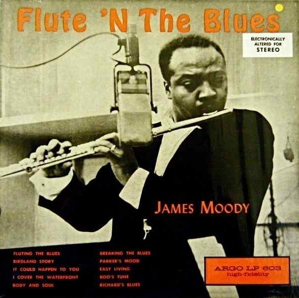 James Moody Flute 'N the Blues Cover Art