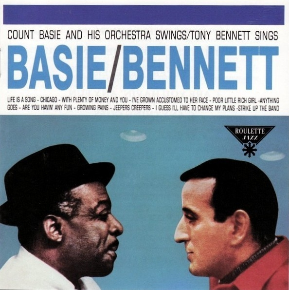 Tony Bennett Count Basie and His Orchestra Swings, Tony Bennett Sings cover art