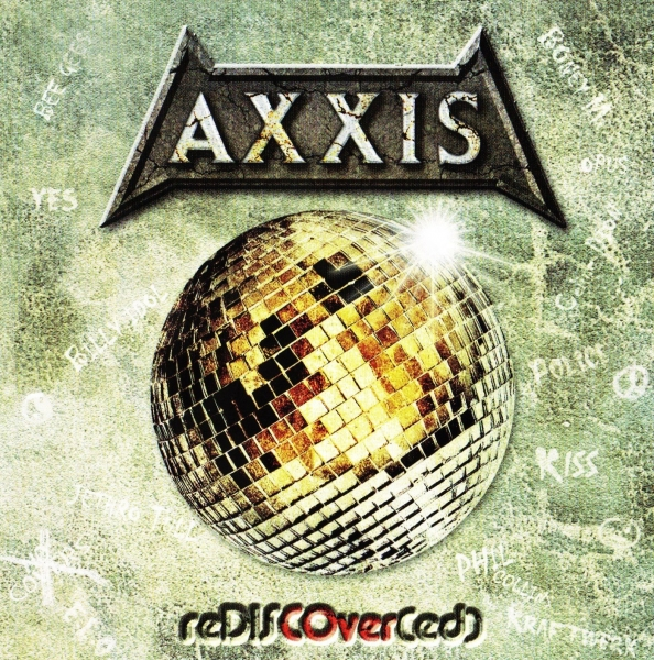 Axxis reDISCOver(ed) cover art