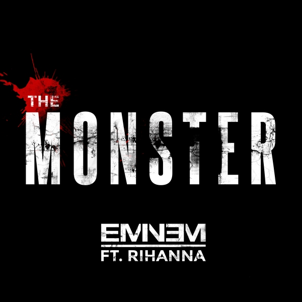 Eminem feat. Rihanna The Monster Cover Art