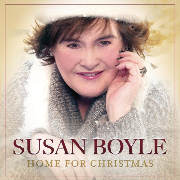 Susan Boyle Home For Christmas cover art