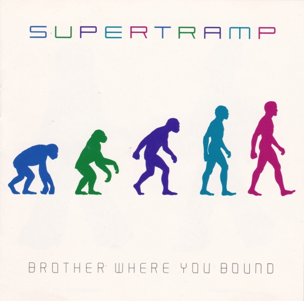 Supertramp Brother Where You Bound cover art