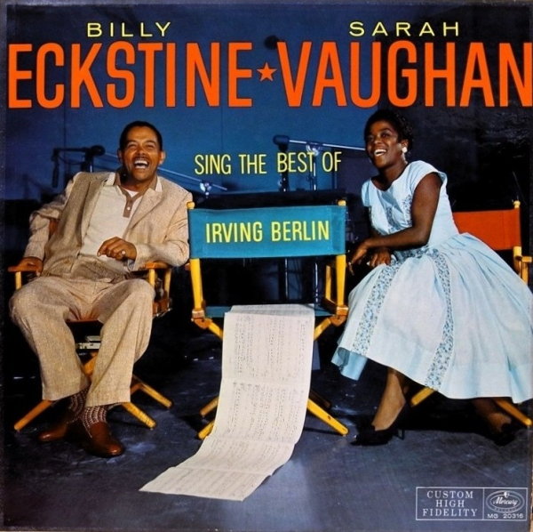 Billy Eckstine Sarah Vaughan and Billy Eckstine Sing the Best of Irving Berlin cover art
