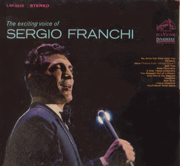 Sergio Franchi The Exciting Voice of Sergio Franchi cover art
