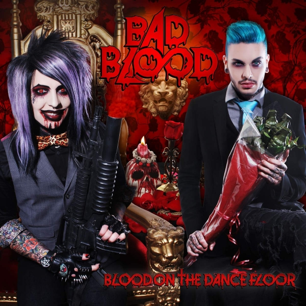 Blood on the Dance Floor Bad Blood cover art