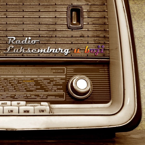 Radio Luksemburg U boji cover art