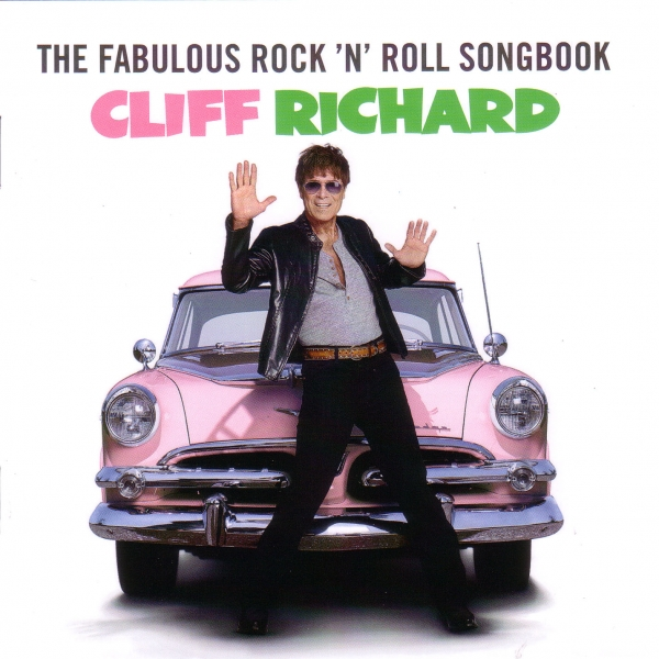 Cliff Richard The Fabulous Rock 'n' Roll Songbook Cover Art