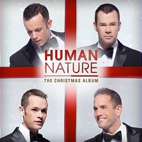 Human Nature The Christmas Album cover art