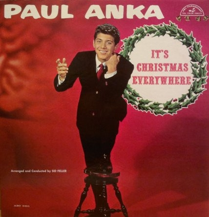 Paul Anka It's Christmas Everywhere cover art