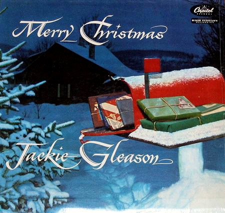 Jackie Gleason Merry Christmas Cover Art
