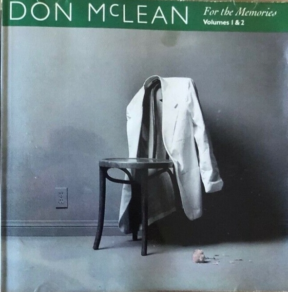 Don McLean For the Memories, Volumes 1 & 2 Cover Art