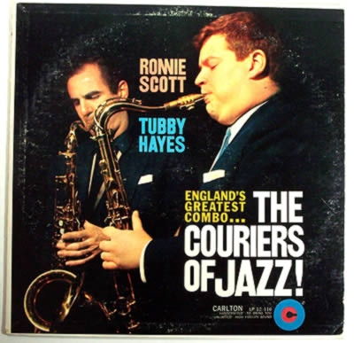 Tubby Hayes The Couriers of Jazz cover art