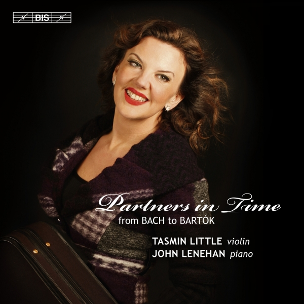 Tasmin Little, John Lenehan Partners in Time: From Bach to Bartók Cover Art