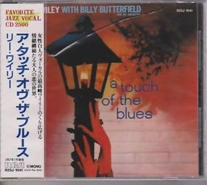 Lee Wiley A Touch of the Blues cover art