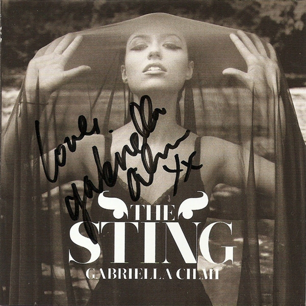 Gabriella Cilmi The Sting cover art